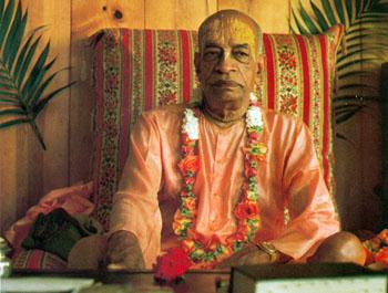 Swami Prabhupada died in 1977