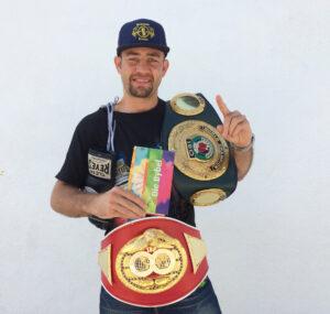 Chris Van Heerden | welterweight boxer
