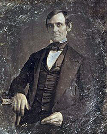 Lincoln in his late 30s