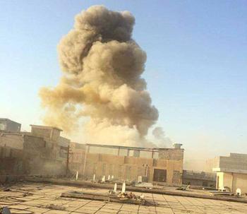 Vbied explosion in Ramadi, May 16, 2015
