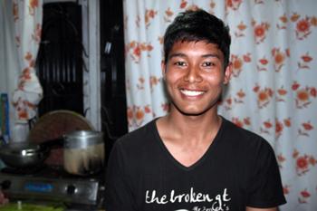 Akash after his deliverance