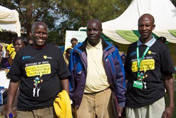 ELI anti-alcohol program staff in Kenya