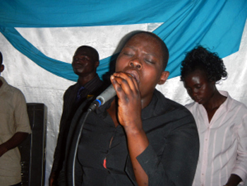 Opando was poisoned in Uganda after converting to Christianity, but survived