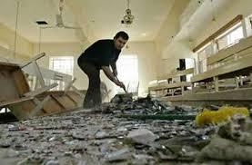Church bombed in Syria