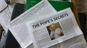 The Tony Alamo pamphlets that have raised controversy.