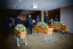The Groenewald funeral