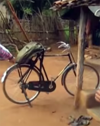The pastor's bicycle