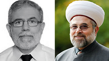 Dr. Abousamra (left) pushed out Imam Eid (right)