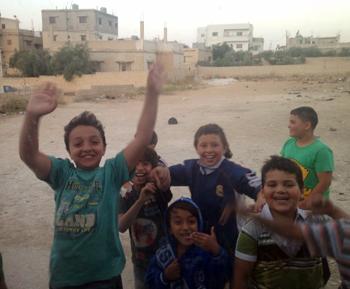 kids in Mafraq