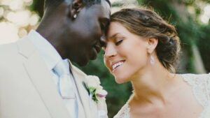 On her wedding day to Jrue Holiday