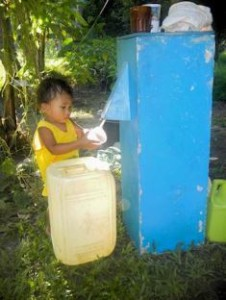Water filters purify sorely needed water, opening the way for churches to be planted (Christian Aid Mission).