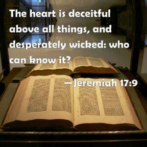 heart deceitful bible