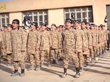 ISIS video depicts 'Al-Farouq Training Institute for Cubs' where children are trained for terror