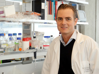 Cancer researcher Mads Dougaard