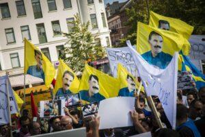 Demonstration against ISIS in Sweden