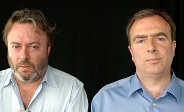 Christopher (left) and Peter Hitchens