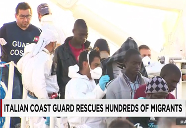 Passengers rescued