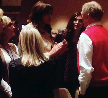Pastor Ed Young talks with Jenner