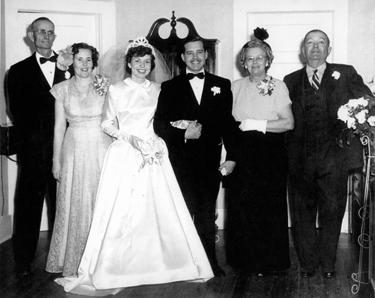 Bill and Vonette's wedding