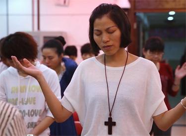 Worship in Three Self Church
