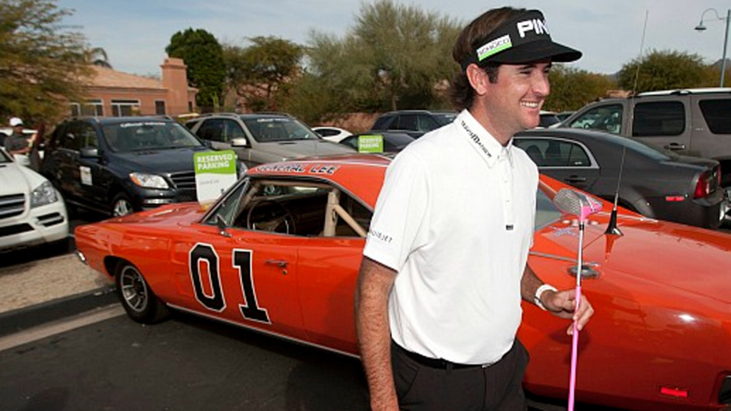 """At an auction, Bubba bought the Dukes of Hazzard car """"the General Lee,"""" but after the Confederate flag controversy arose, he said he would paint it over with an American flag."""