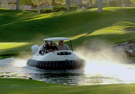 bubba watson golf cart hover craft