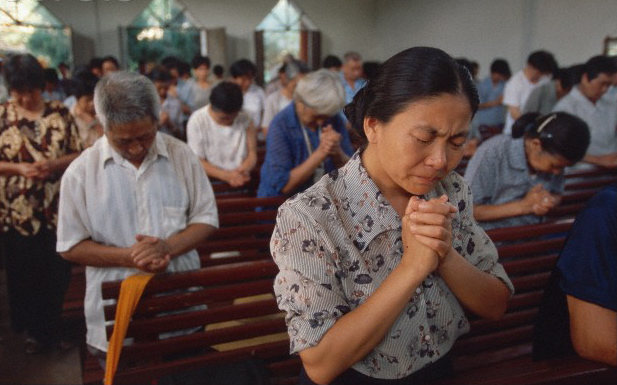 Chinese Christians in 1998