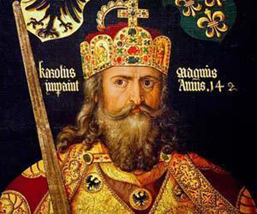 Charlemagne decreed that every cathedral should have a school, monastery and hospital attached