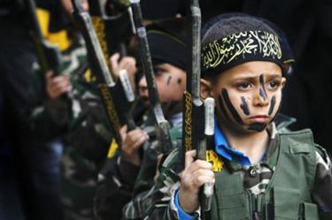 ISIS training children to kill