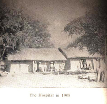 Hospital established by Baptists in India, 1908