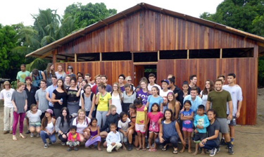 Team of high school students from Church by the Sea in Laguna Beach completes construction of church