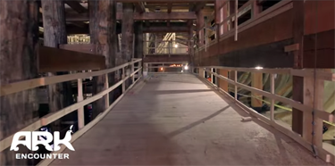 interior of ark
