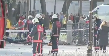 Bombing at mall in Istanbul