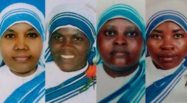 Four nuns murdered in Yemen