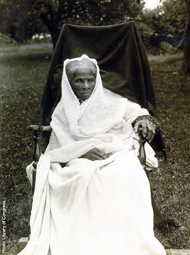 Tubman at the end of her life. She passed away in 1913.