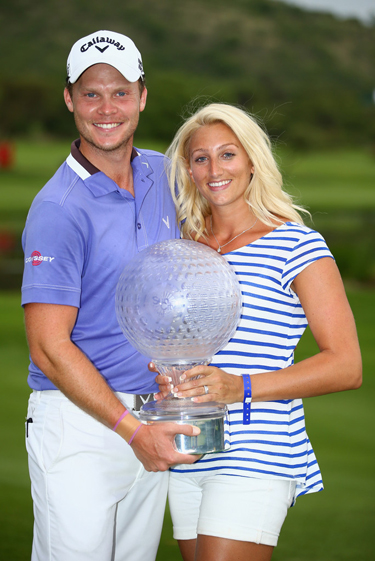 Danny with wife Nicole