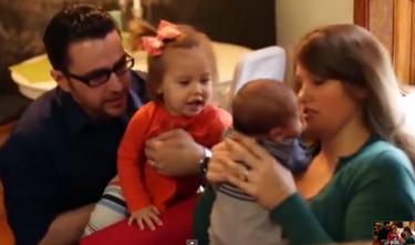 Bignon with his family