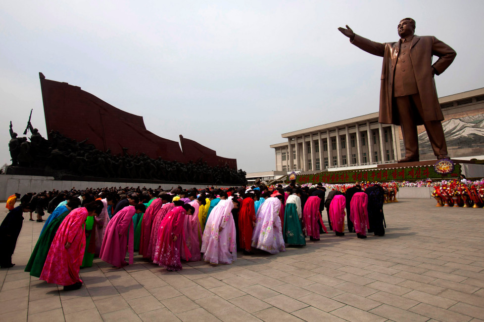 north korea revere leader