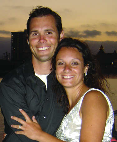 Pastor Jim Britts and his wife Rachel