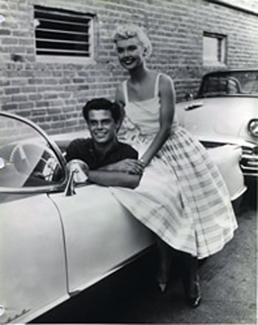 """Bob with Yvonne Line on """"Dragstrip Riot"""""""