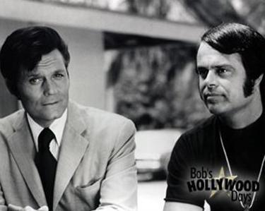 """Bob with Jack Lord on """"Hawaii 5-0"""""""