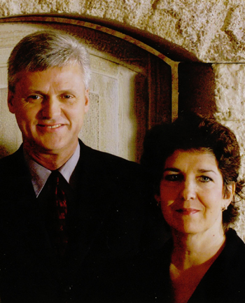 Pastor D. Mitchell Bias with his wife, Regina