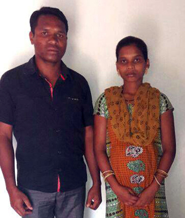 Pastor Sameli and his wife (Photo: Suhas Munshi/Catch News)