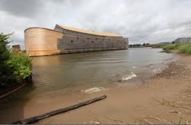 Noah's Ark replica in the Netherlands