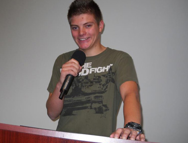Bryce preaching