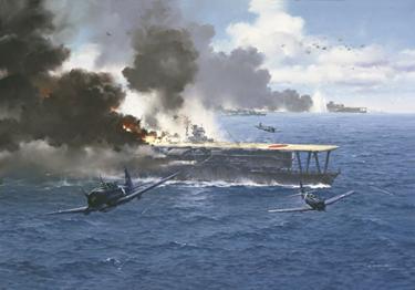Japanese carrier hit