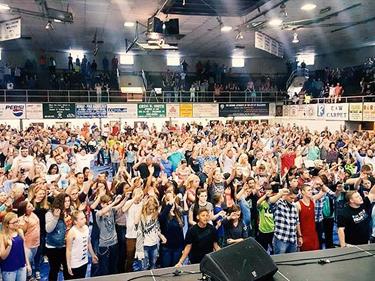 West Virginia revival meeting
