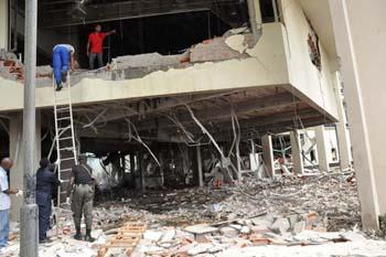 Bombing of UN bldg in Abuja, Nigeria
