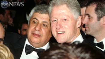 Clinton with Chagoury