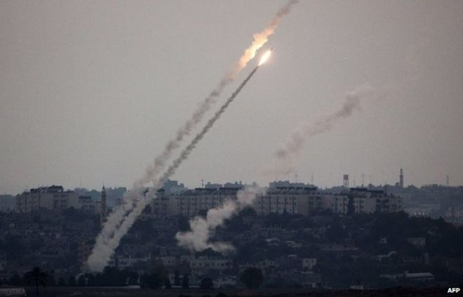 Gaza rockets launched over Israel